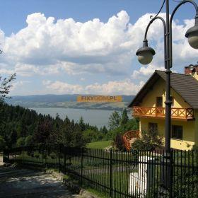 Piękny dom całoroczny w Pieninach nad Jeziorem Czorsztyńskim