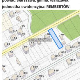 Działka Warszawa Rembertów 705 m 2